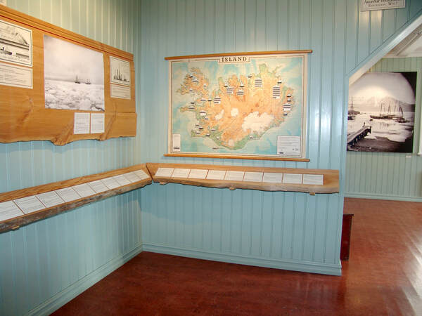 Image of an exhibit at Hofsós